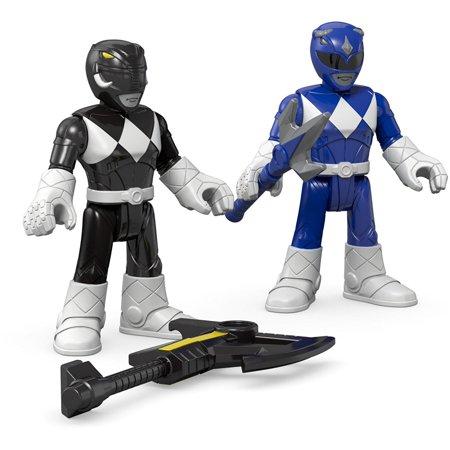 Fisher-Price Imaginext Power Rangers Blue Ranger & Black Ranger FiguresCollect them All! By FisherPrice](Power Ranger Helmets For Sale)