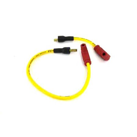 Accel Yellow 8.8mm Spark Plug Wire Set,for Harley Davidson,by Accel ()