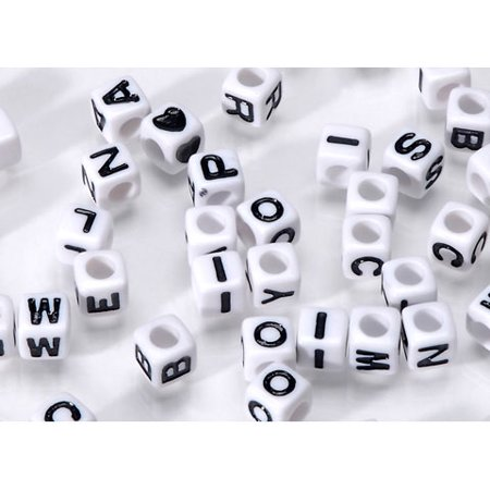 Assorted Letter Beads, 160ct   Walmart.com