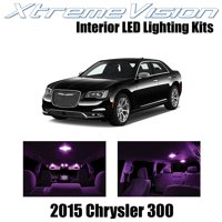 XtremeVision LED for Chrysler 300/300C 2015+ (10 Pieces) Red Premium Interior LED Kit Package + Installation Tool