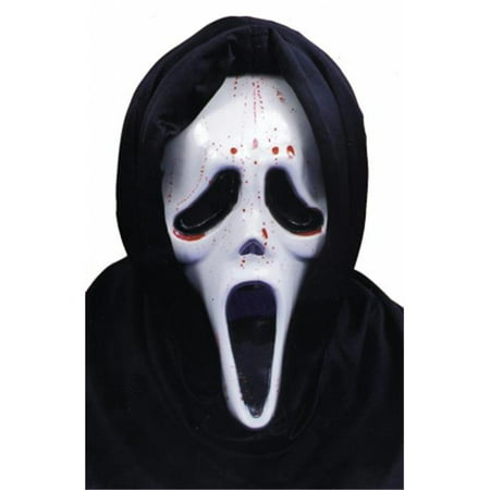 Costumes For All Occasions Ta206 Scream Mask W Blood And - Scream Blood Mask