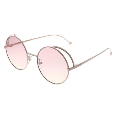 1a547e9cc Fendi - Fendi Fendirama FF 0343 35J 01 Womens Round Sunglasses - Walmart.com