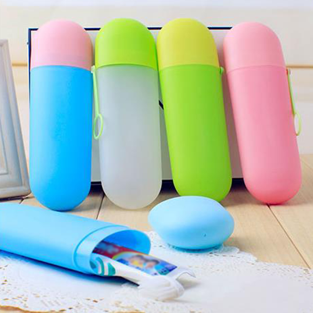 Moderna Portable Travel Toothbrush Toothpaste Anti-dust Cover Holder Case Storage Box