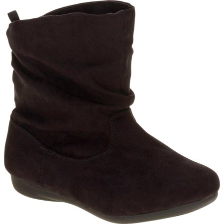 Faded Glory Girls' Classic Slouch Pull On Boot by