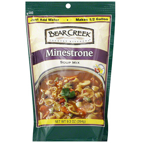 Bear Creek Minestrone Soup Mix, 9.3 oz (Pack of 6)