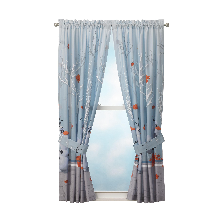 disney frozen 2 olaf kids bedroom curtain panel set set