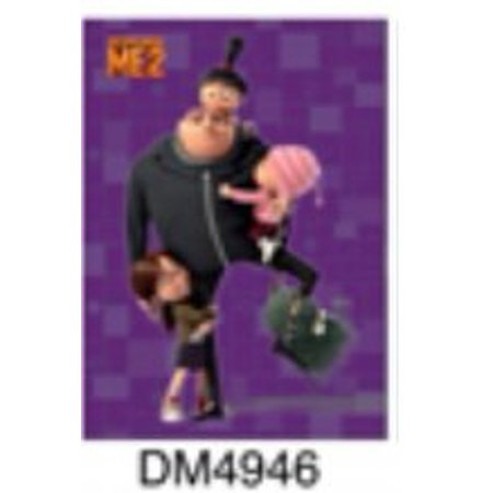 DESPICABLE ME 2, Gru & Girls , Officially Licensed, 3.5