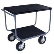 TB248-U5GPAS Instrument Cart, 1200 lb., Urethane