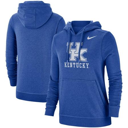 Kentucky Wildcats Nike Women's Team Club Pullover Hoodie - Royal