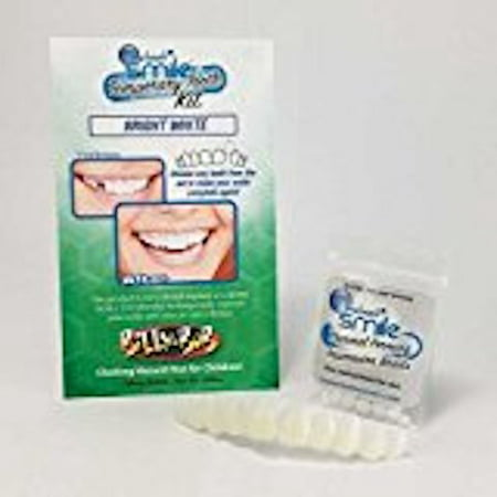 Instant Smile Teeth Top Bright White Replacement Tooth Kit