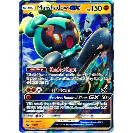Pokemon Promo Marshadow GX SM59