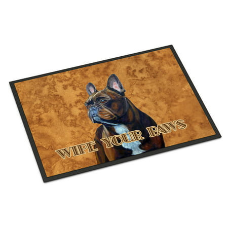 French Bulldog Wipe your Paws Door Mat ()