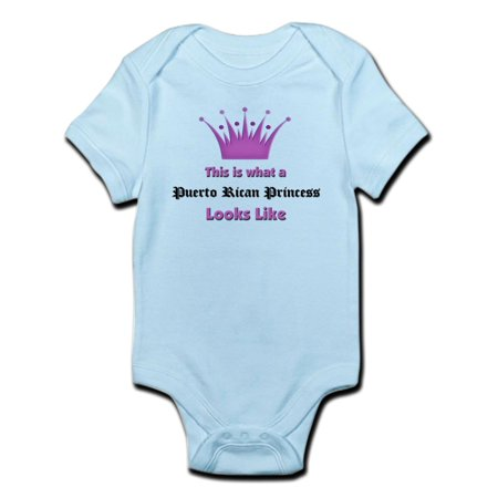 CafePress - This Is What An Puerto Rican Princess Looks Like I - Baby Light Bodysuit](Princess Peach Onesie)