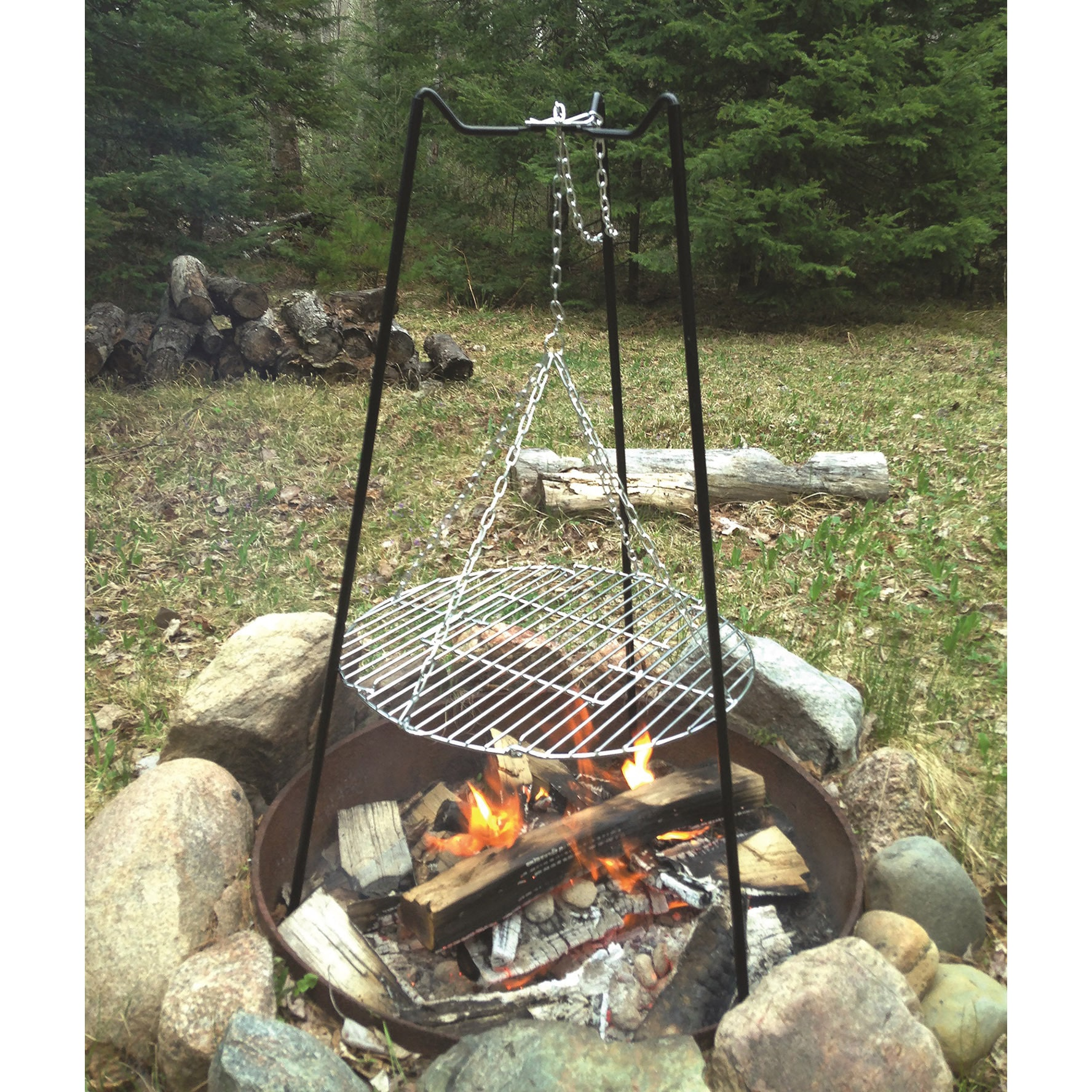 17 Best Images About Camping Cooking Equipment On: Tri Pod Grill Barbeque Roasting Portable Outdoor Cooking