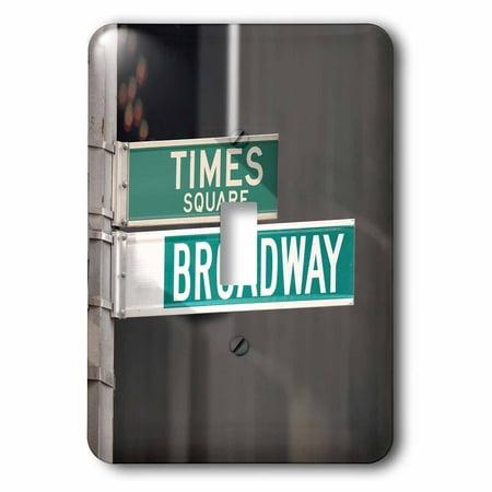 3dRose Times Square Broadway - Single Toggle Switch (Broadway Single)