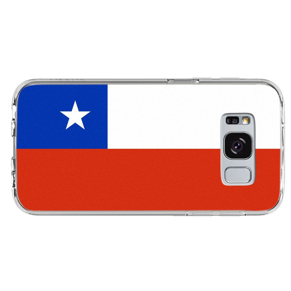 Chile Chilean Flag Samsung Galaxy S8 Plus Phone Case by Mad Marble