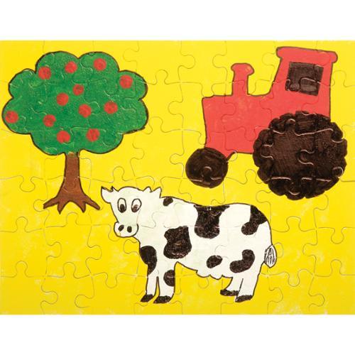 """Color Your Own Puzzle 48 Pieces 8.5""""X11"""" 1/Pkg-"""