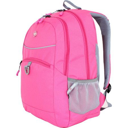 6651824408 Polyester Tablet Backpack - Bubble Gum Pink, 18 inch - Bubble Backpacks