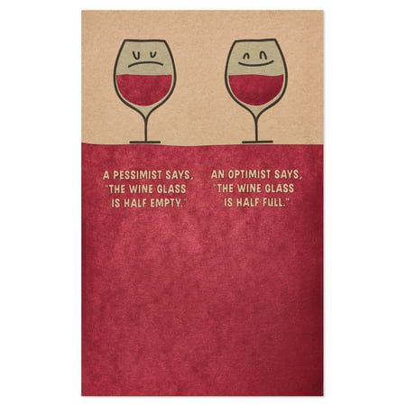 American Greetings Funny Free Wine Birthday Card With Foil