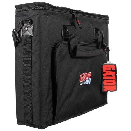 Gator GRB-2U 2 Space Pro Audio Equipment Rack Bag w Padded Carry Straps