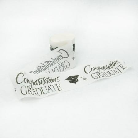 Congratulations Graduate Crepe Streamer