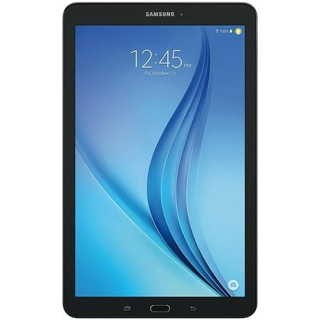 SAMSUNG Galaxy Tab E 9.6u0022 16GB Android 6.0 WiFi Tablet Black - Micro SD Card Slot - SM-T560NZKUXAR