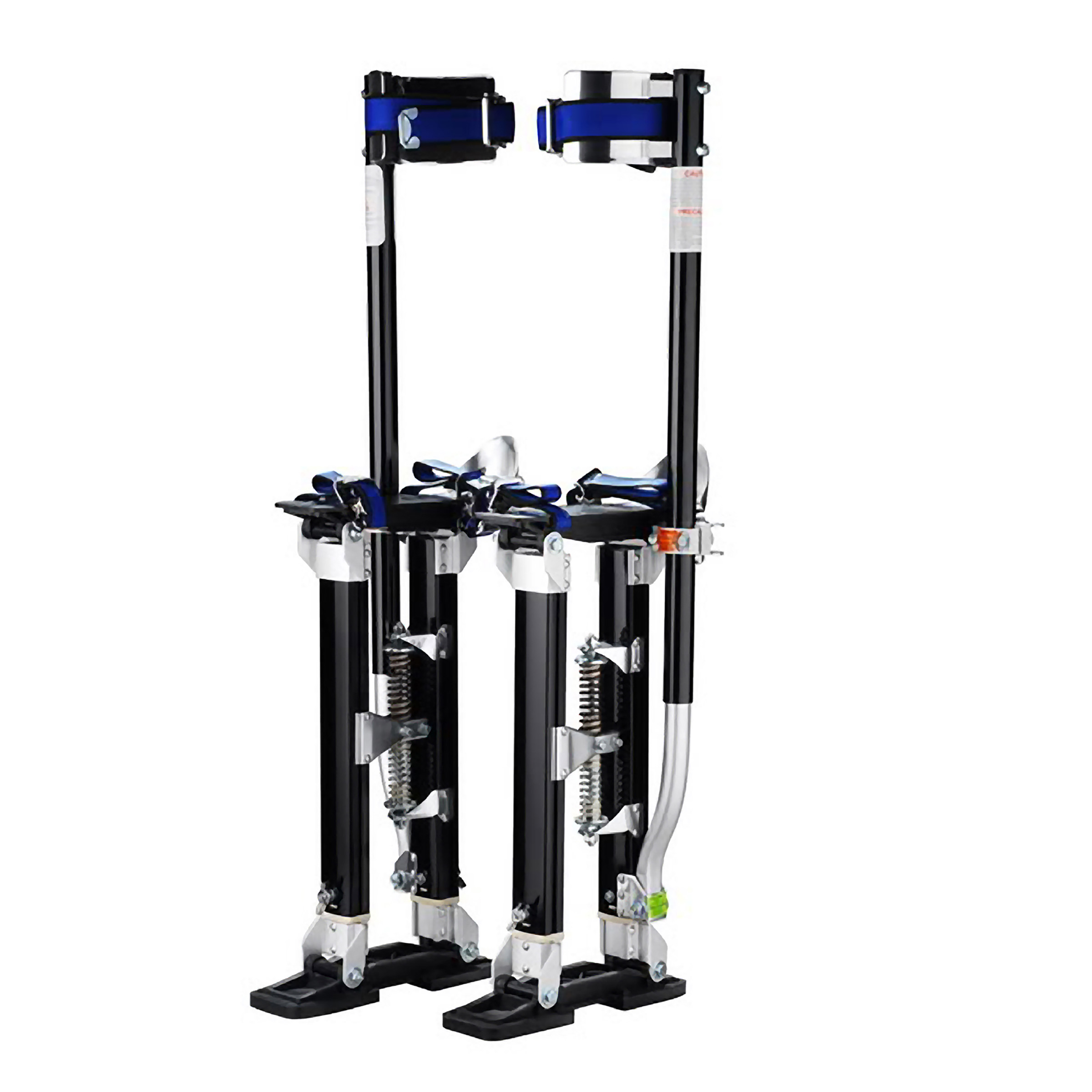 """Pentagon Tool """"Tall Guyz"""" Professional 24""""-40"""" Black Drywall Stilts For Sheetrock Painting or Cleaning"""