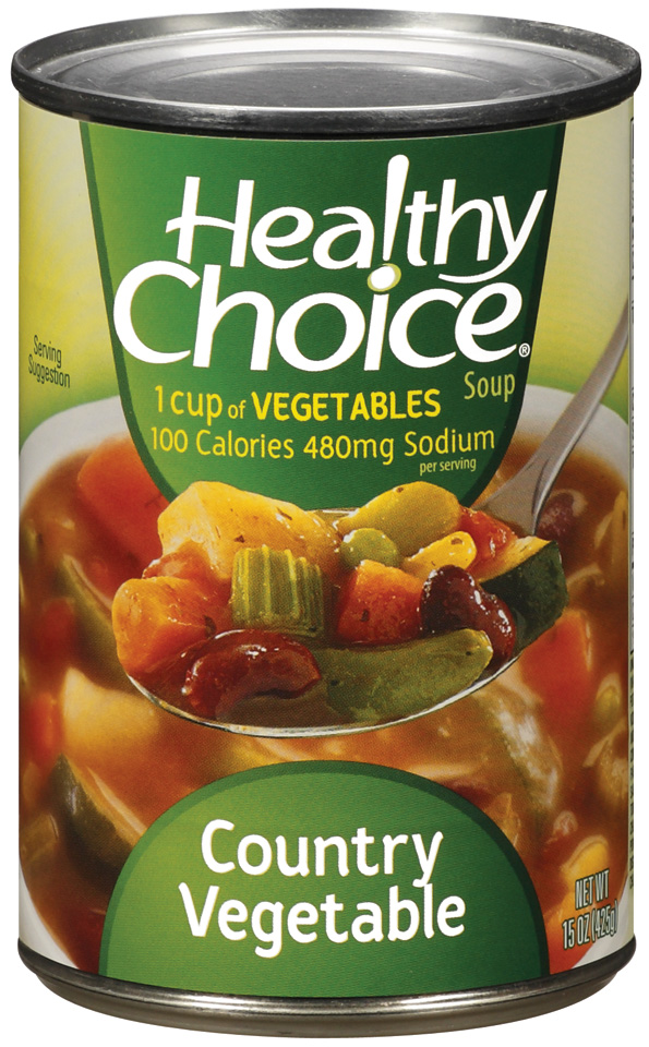 Healthy Choice Country Vegetable Soup 15 Oz Can by Conagra Foods