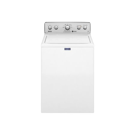 Maytag MVWC416FW - Washing machine - freestanding - width: 27.5 in - depth: 27 in - height: 43 in - top loading - 3.6 cu. ft - white