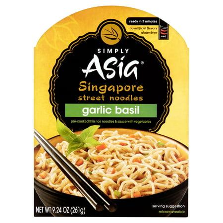 Simply Asia Garlic Basil Singapore Street Noodles  9 24 Oz