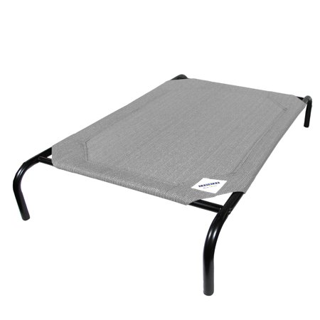 Coolaroo Elevated Pet Bed - Coolaroo Elevated Pet Bed; Small; Grey