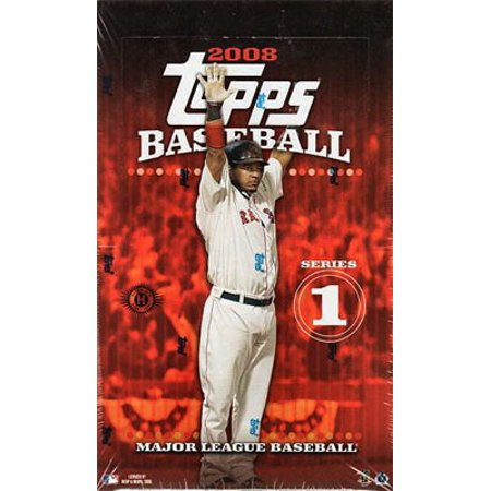 Mlb 2008 Baseball Cards Series 1 Hobby Box
