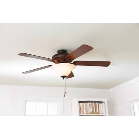 Better Homes And Gardens 52 Ceiling Fan With Light Kit Bronze 17783