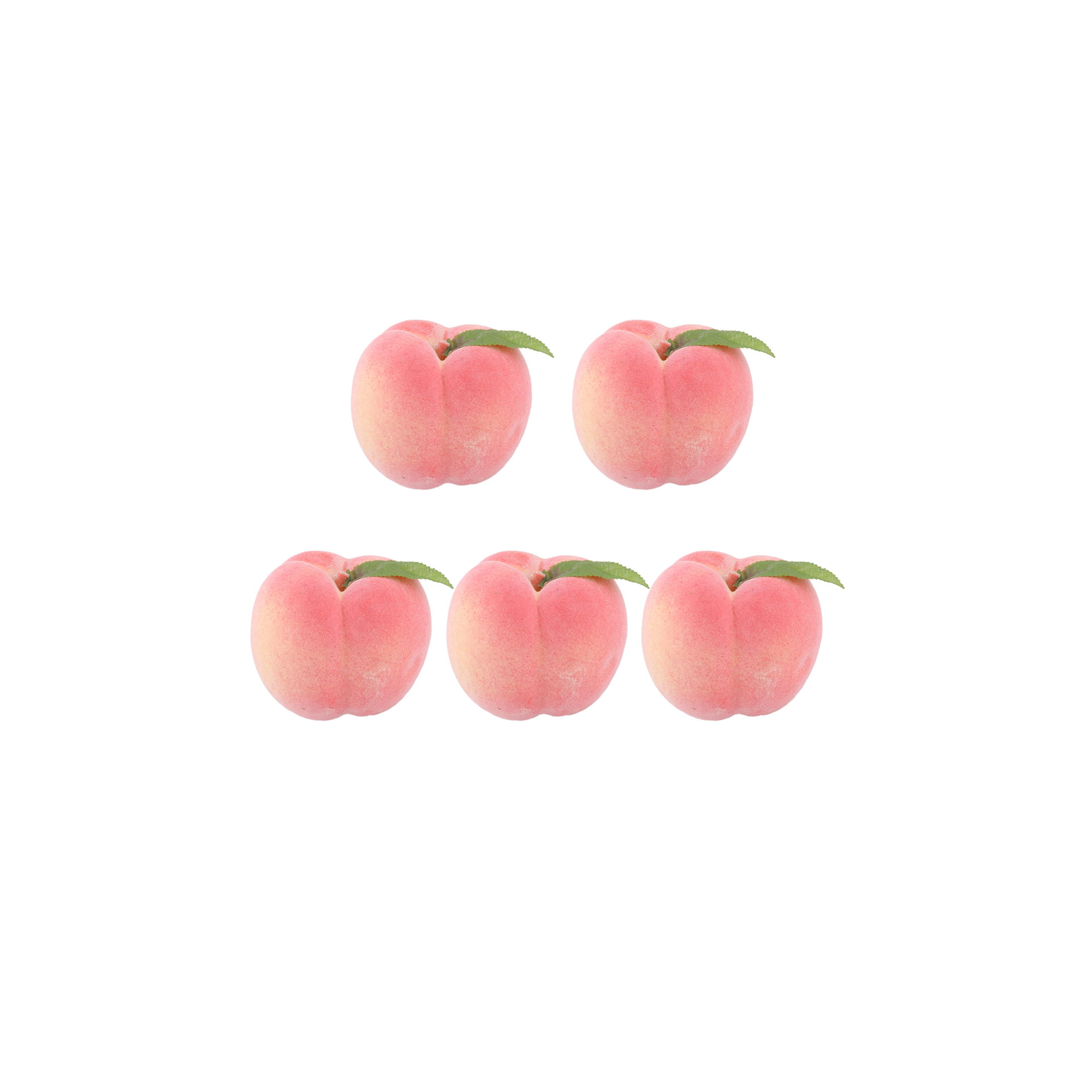 Home Office Decor Foam Lifelike Artificial Emulation Fruit Peach Mold Pink 5pcs Walmart Canada