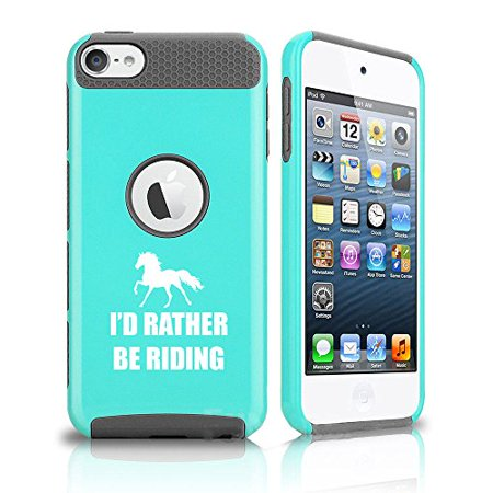 Apple iPod Touch 5th / 6th Shockproof Impact Hard Soft Case Cover I