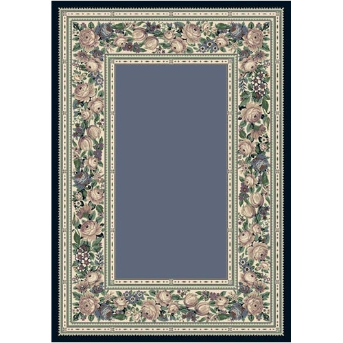 Milliken Innovation Lapis English Floral Area Rug