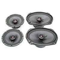 2007-2009 Saturn Aura Elite Series Complete Vehicle Speaker Package Upgrade by Skar Audio