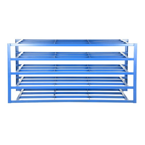 Vestil 2000 lbs 5-Shelf Horizontal Sheet Rack