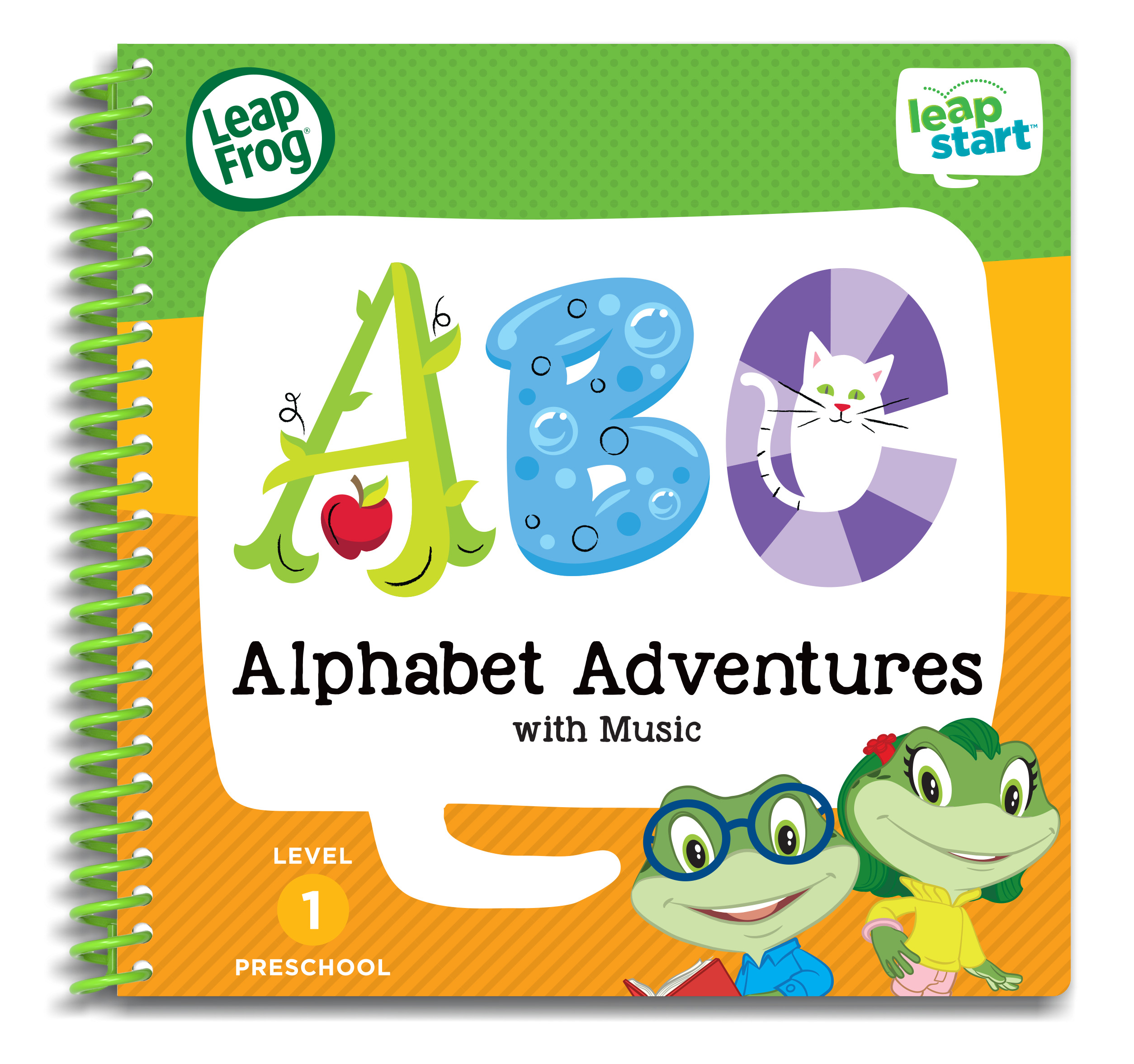 LeapFrog LeapStart Preschool Alphabet Adventures Activity Book by LeapFrog®