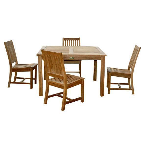 Windsor Rialto Side Chair 5 Pieces Dining Table Set Walmart Com Walmart Com
