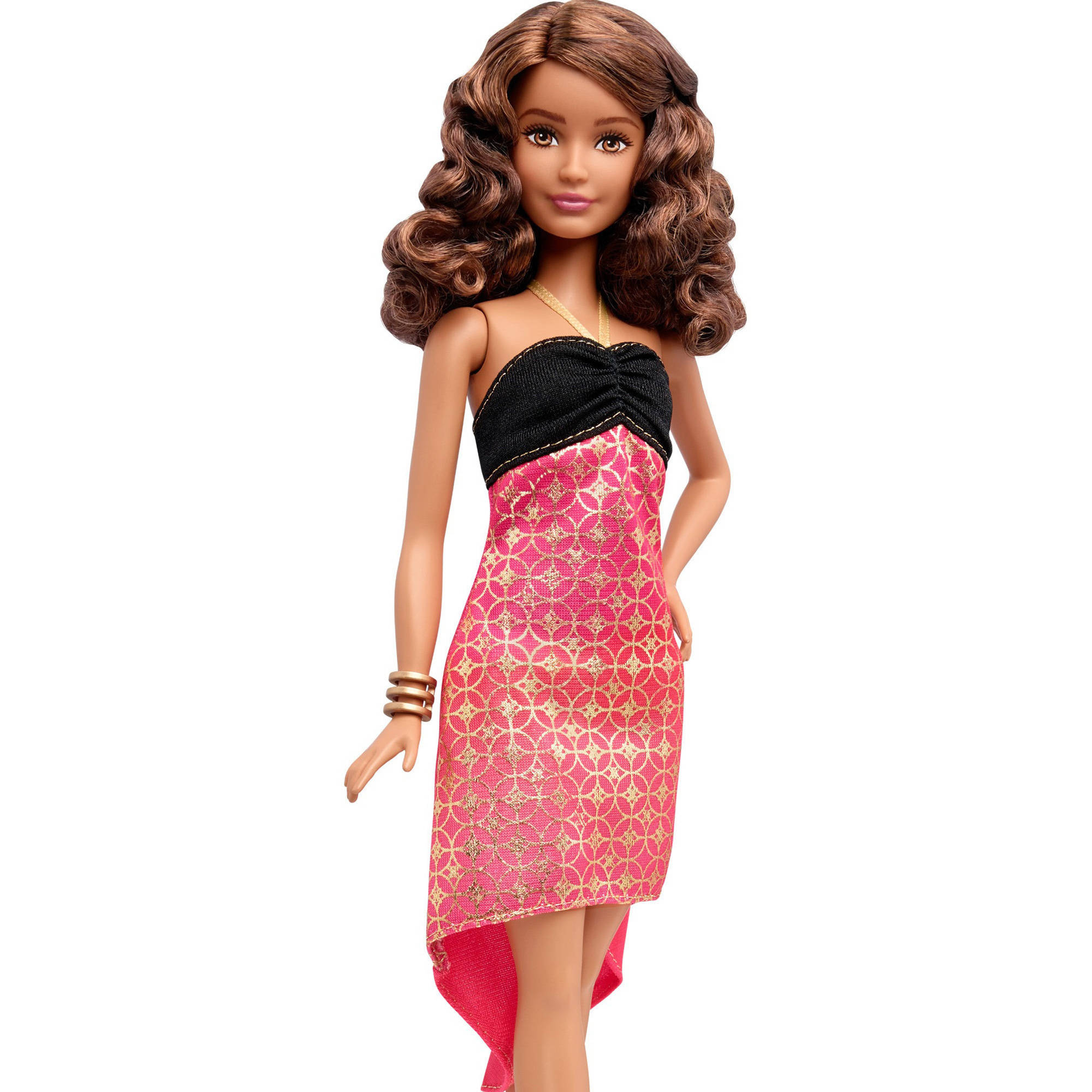 Barbie Fashionistas Doll, Crazy For Coral, Petite