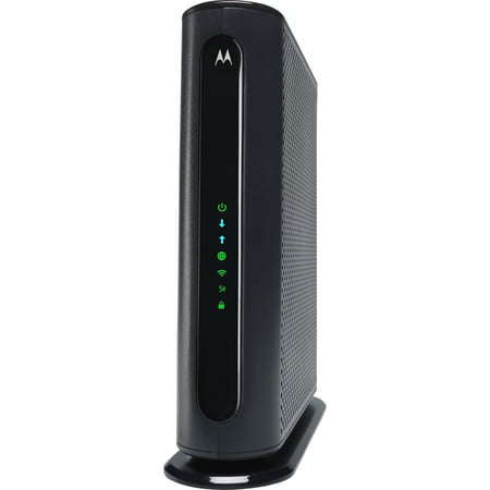 MOTOROLA MG7540 (16x4) Cable Modem + AC1600 Dual Band Wi-Fi Router Combo, DOCSIS 3.0 | Certified by Comcast Xfinity, Cox, Charter Spectrum, More | 686 Mbps Max