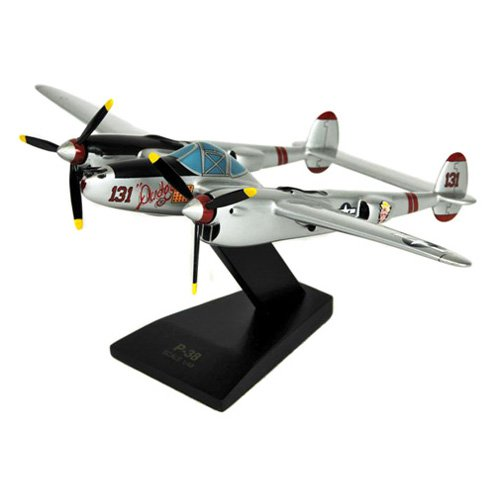 Daron Worldwide P-38J Lightning Model Airplane by Toys and Models Corporation