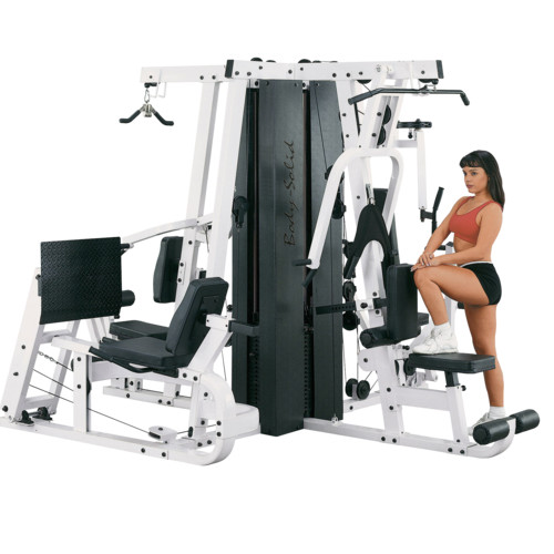 Body Solid - EXM4000S Gym System