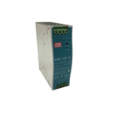 Single Output Industrial DIN Rail Power Supply 12 Volts 10 Amps 120 Watts