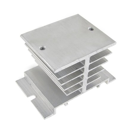 Single Phase Solid State Relay SSR Aluminum Heat Sink Dissipation Radiator