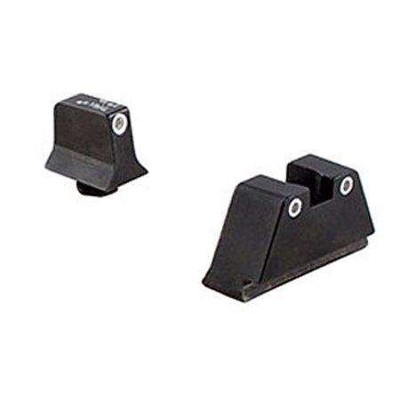 Trijicon Bright & Tough Night Sight Suppressor Set Orange/White for Glock Pistols -