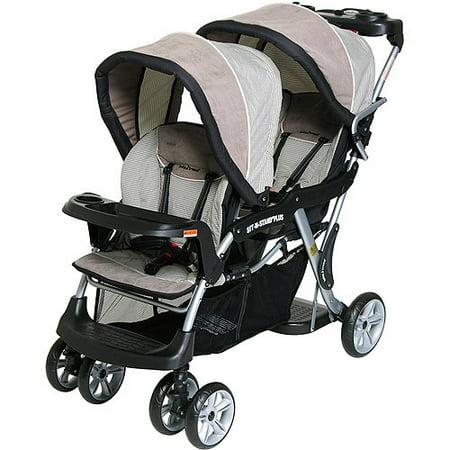 Baby Trend - Sit N Stand Plus Double Stroller, Havenwood - Walmart.com