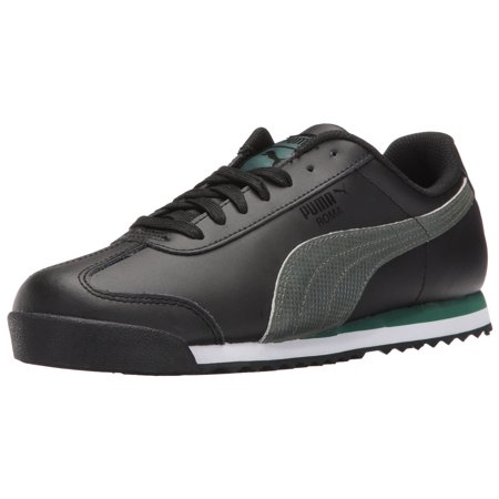 5abf6c211c7e0b PUMA - PUMA 363413-01   Men s Roma Basic Holo Fashion Sneaker Puma Black (10.5  D(M) US) - Walmart.com