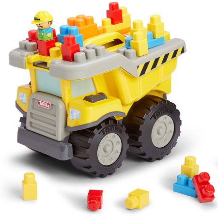 Kids@Work Tonka Tow N Go Tuff Truck - 25pc